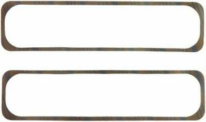 Fel Pro 1648 Valve Cover Gaskets Cork Rubber With Steel Core Sbc Pair