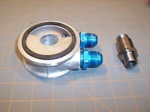 Mocal Oil Filter Sandwich Plate 3 4 Unf For Ford Vauxhall Vw Oil Cooler Take Off