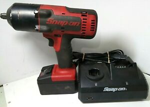 Ri4 Snap On Ct8850 18v 1 2 Cordless Impact Wrench W Battery