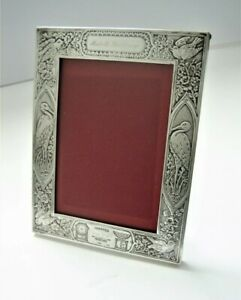 Lebkuecher Co Sterling Silver No 3187 Baby Birth Record Picture Frame 925