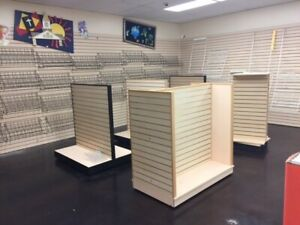 Retail Store Fixtures used Will Ship Usa Blanket Wrapped