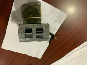 1970 Impala Convertible Top Rear Defrost Assembly Top Switch Works