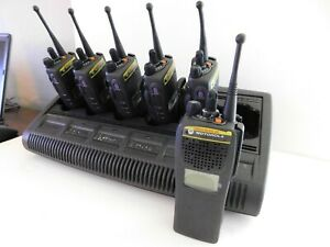 Lot Of 6 Motorola Xts2500 700 800mhz Nos P25 Portable Radios Adp