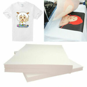 Inkjet Heat Transfer Iron On Paper Dark Color Fabric 12 X 17 A3 10 Sheets
