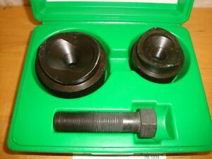 Greenlee Knockout Punch Hand Tool Set No 737 737bb Set Usa