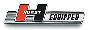 Hurst 1361000 Equipped Self Adhesive Chrome Emblem