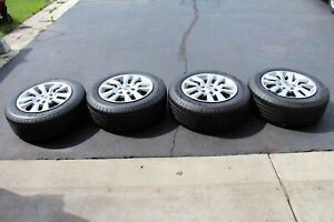 2013 Nissan Altima O E M Rims And Michelin Defender Tires 10 000 Slightly Used