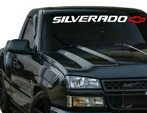 Silverado Tailgate Vinyl Decal Sticker Chevy 1500 2500 Duramax Window Graphics