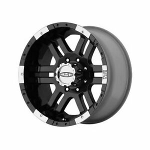 Moto Metal Series Mo951 Black Wheel 16 X9 8x165 1mm Bc Set Of 2