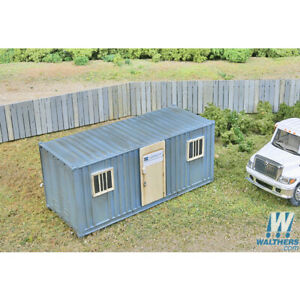 Walthers 949 2900 Mobile Construction Office Kit Ho Scale