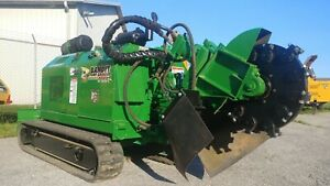 Bandit 2900t Tracked Turbo Diesel Stump Grinder With Remote 766 Hours Carlton