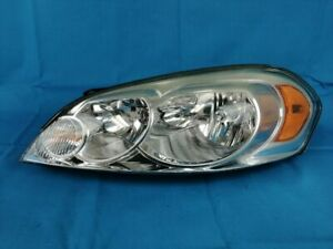 2006 2007 2008 2009 10 11 12 13 14 15 Chevrolet Impala Oem Halogen Headlight Lh