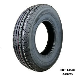 2 Two New St225 75r15 Power King Towmax Strii E Trailer Tires 2257515 Max53t