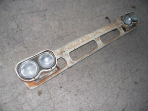 60 61 Chevy Pickup Truck Custom Grille Grill C60 Bezels Low Rider Rat Rod 1961