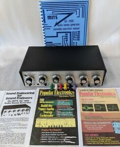 Mits Sg 1900 Audio Sweep Generator W Manual note Mits Made The Altair 8800