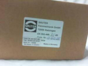 Sauter Ek 502 466 e0 00 Turret Control Factory Sealed