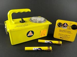 Cd Radiation Survey Meter Cdv 715 1a Dosimeters Chargers Geiger Counter Lot