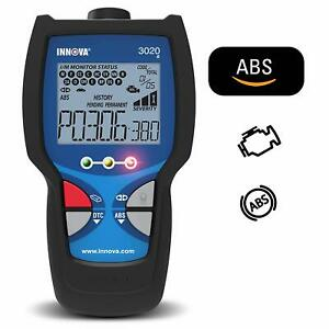Innova Check Engine Code Reader With Abs Brakes for Obd2 Vehicles