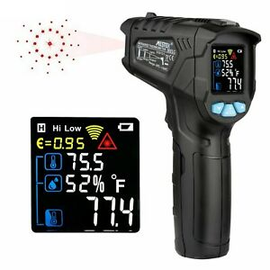 Digital Laser Thermometer Infrared Temperature Gun Non Contact Heat Meter Tool
