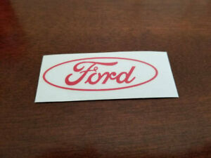 Ford Oval Logo Decal Any Size Any Colors Car Truck Laptop