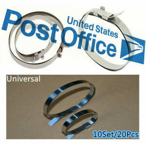 Universal Car Drive Cv Boot Stainless Steel Joint Clamps Kit 20pcs Set