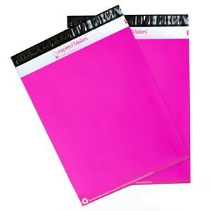 Poly Mailers 14 5x19 Pink Pack Of 100