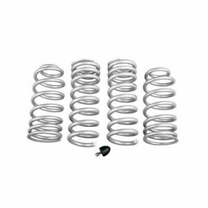 Summit Racing Lowering Springs Front And Rear Silver Ford Mustang 4 6 5 0l Kit