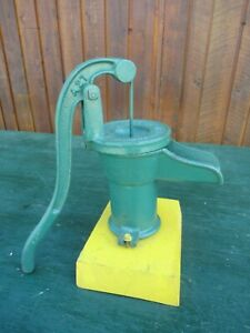 Vintage Cast Iron Hand Pitcher Water Pump Measures 12 High Mcdougall Galt