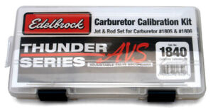 Edelbrock 1840 Calibration Kit Calibration Kit For 1805 1806 Carbs