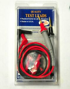 Probe Master 8043s Dmm Right Angle Banana Plug Test Leads