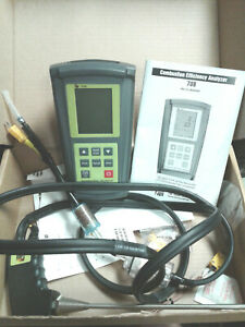 Tpi Test Products Intl 708 Combustion Efficiency Analyzer Co Co2 Oxy