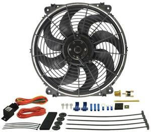Derale Cooling Products 16014 14 Tornado Elect Fan thrmostat Kit