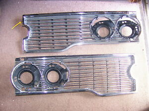 1968 Chrysler Imperial Grill Oem Lebaron Crown Coupe