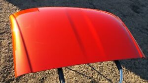Corvette Targa Top Roof 2005 2013 C6 Roof Panel Gm Oem Inferno Orange Wa502q