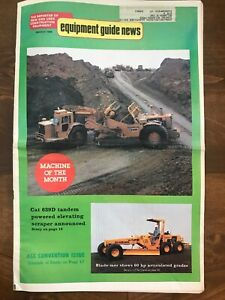 Equipment Guide News The Reporter Of Mew And Used Construction Equipment 1980