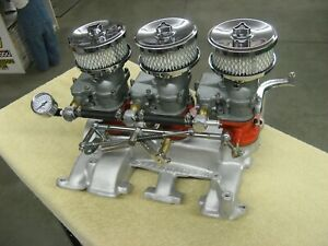 Vintage Offenhauser Intake Manifold For Y Block Ford