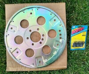 Sbc Bbc Gm chevy except400 454 S f i Heavy Duty Steel Flexplate 168t No Weight
