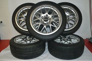 Set Of 5 Bbs Rx204 Et38 17x8 5x120 Bmw E46 3 Series 99 05 323i 325i 328i