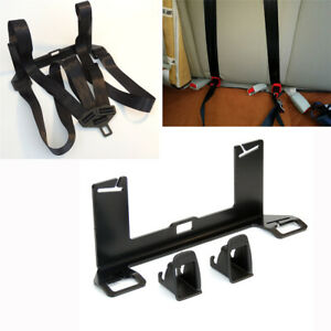 Car Isofix Latch Interface Bracket seat Belt guide Groove For Child Safety Seat