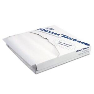 Dixie Menu Tissue Untreated Paper Sheets 1000 pack 10 Packs dxe862491