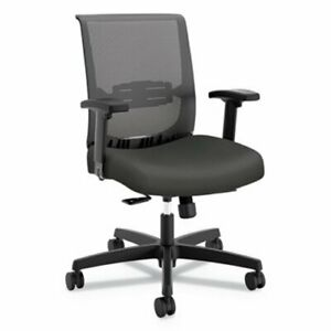 Hon Convergence Syncho tilt Chair Gray Seat With Glide honcmy1acu19