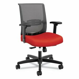 Hon Convergence Syncho tilt Chair Red Seat With Glide honcmy1acu67
