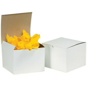Packaging Supplies Fibreboard White Gift Boxes Made In Usa