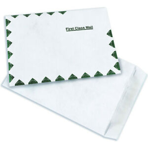Puncture Moisture Protection First Class Flat Tyvek Envelopes Usa Case Of 100