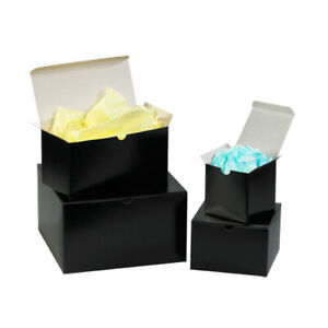 Packaging Supplies Fibreboard Black Gloss Gift Boxes Made In Usa
