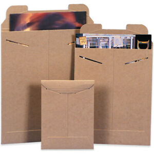 Packaging Supplies 036 Chipboard Kraft Flat Mailers Made In Usa