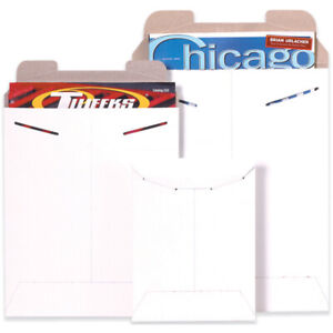 Packaging Supplies 028 Chipboard White Flat Mailers Made In Usa