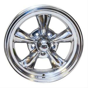 Scott Drake 1964 73 Mustang Classic Wheel Polished 15 X 7 With 4 Backspace