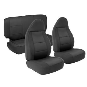 Smittybilt 471301 In Stock Neoprene Front Rear Seat Cover Set 03 06 Jeep Tj