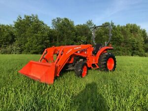 2014 Kubota L2501 4x4 Tractor With Loader